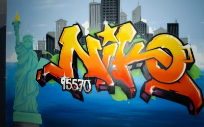 Graffiti Niko à New York