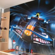 Chambre F1 Red Bull