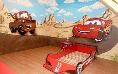 Décoration chambre Cars
