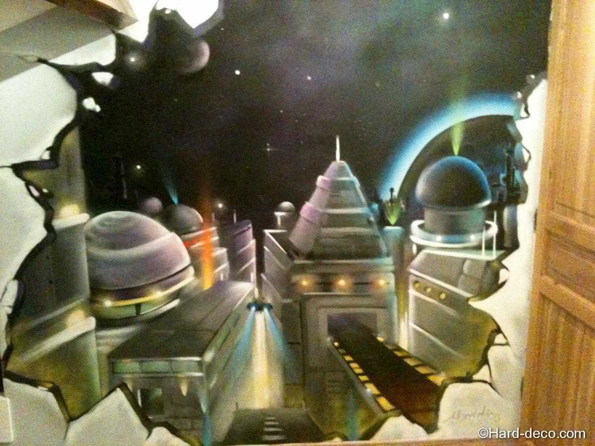 fresque ville future espace