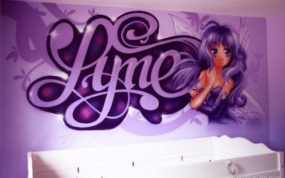 Lyne Graffiti Manga