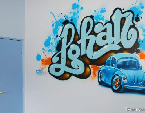 Lohan Graffiti & Coccinelle VW