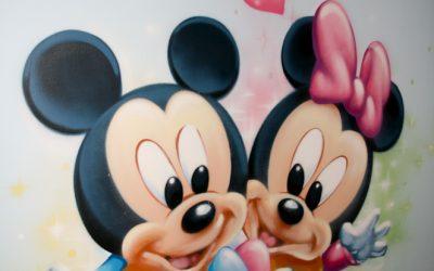 Chambre bébé Mickey et Minnie