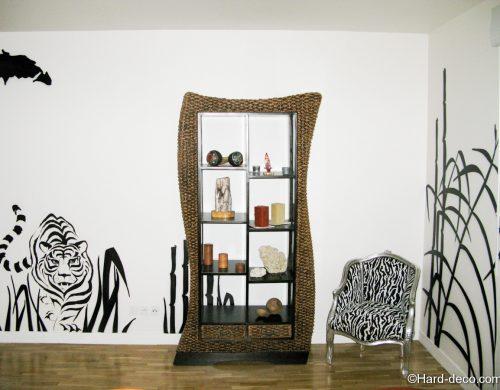 Salon design savane africaine