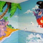 Décoration chambre Lilo et Stitch