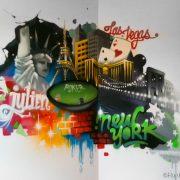 Déco Graffiti Las Vegas Julien