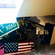 Patchwork New-York Londre Paris