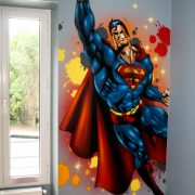 Décoration murale Superman