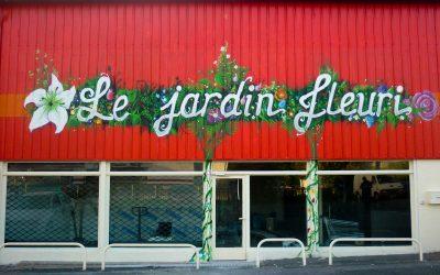 Boutique jardin fleuri