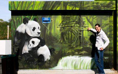 Décos au Parc Ty Bamboo (exterieur)