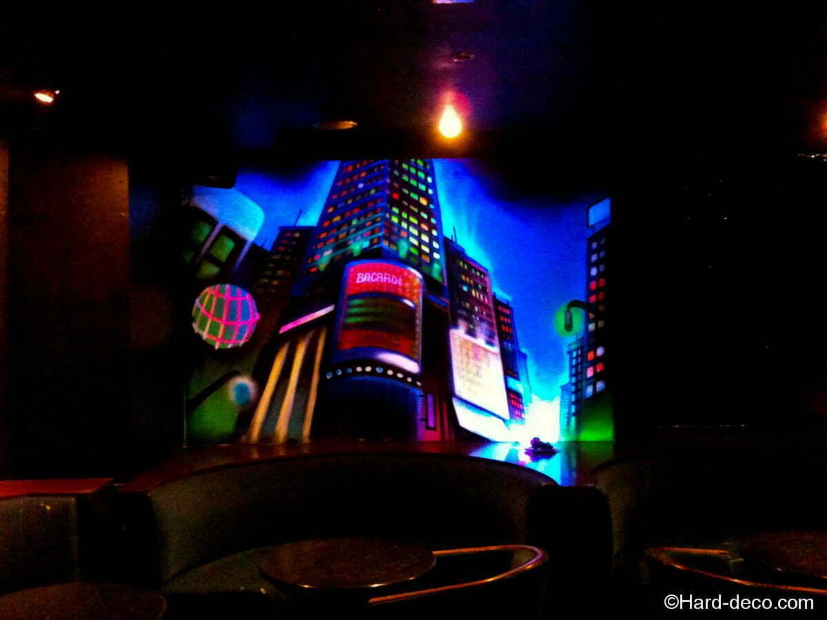 Peinture fluorescente Manhattan  Hard Deco