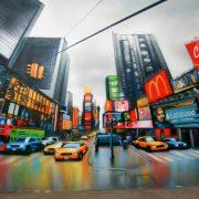 Fresque Time Square New York