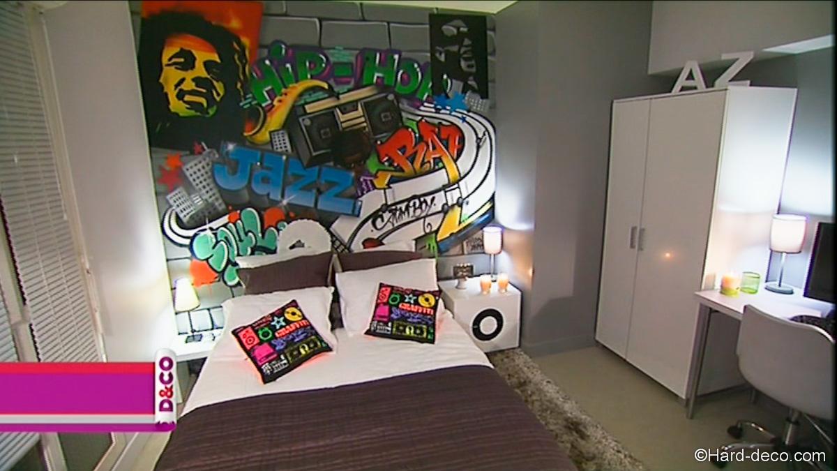d coration graffiti m6 d co. Black Bedroom Furniture Sets. Home Design Ideas