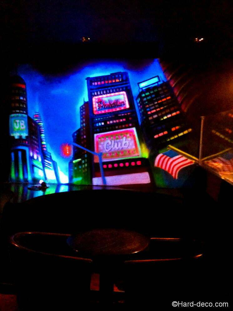 Peinture fluorescente Manhattan  Hard Dec