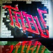 Une soirée graffiti au Tabu