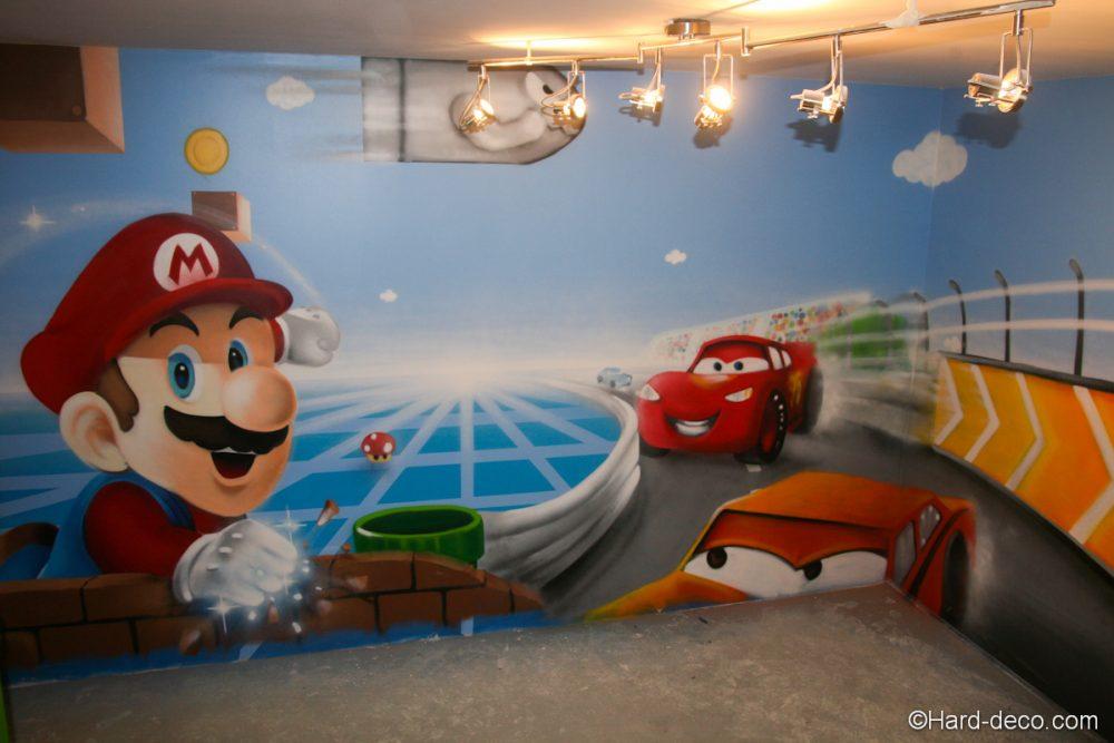 Salle De Jeux Gar On Fille Hard Deco