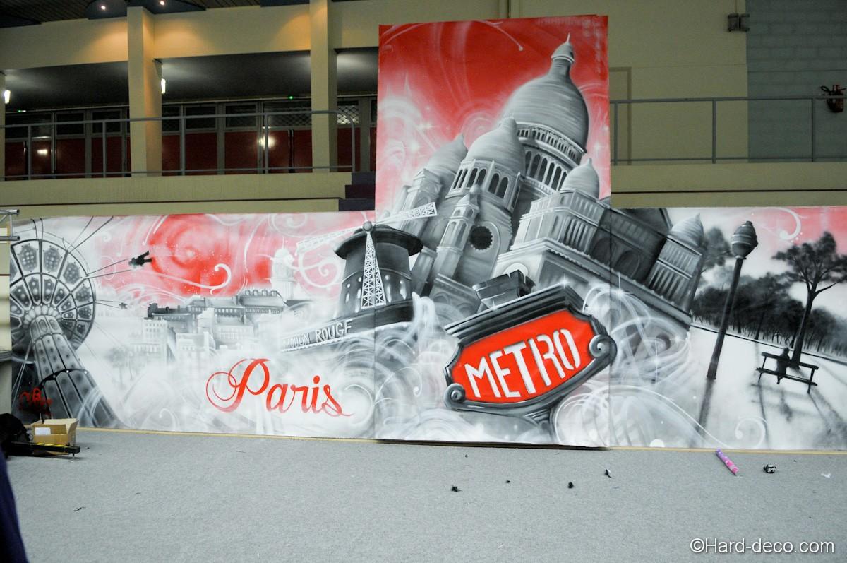 fresque monument paris sacre coeur