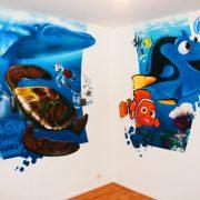 Fresque mural Nemo