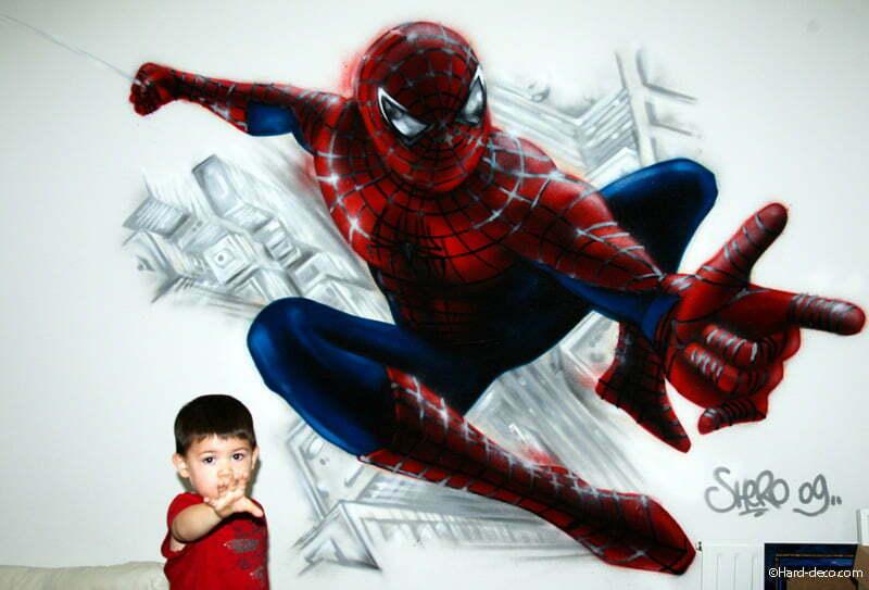 deco spiderman