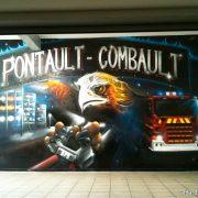 Caserne de pompiers (Pontault C.)