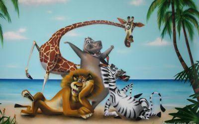 Chambre Madagascar & Co
