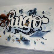 Hugo dans les grands fonds…
