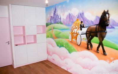 Chambre féérique de princesse