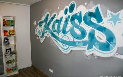 Graffiti déco Kaïss