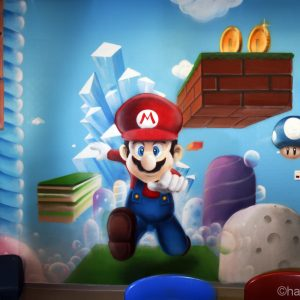La Fresque Mario nous plonge dans l'univers du jeu vidéo