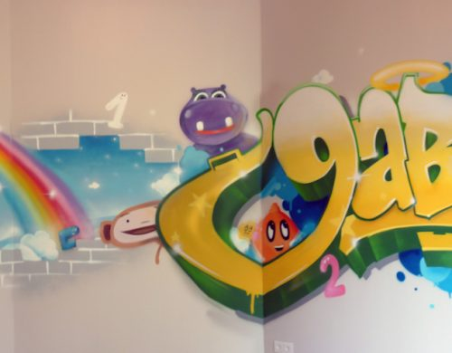 Graffiti Gabin Baby Tv