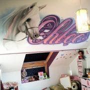 La chambre de la princesse Chloé