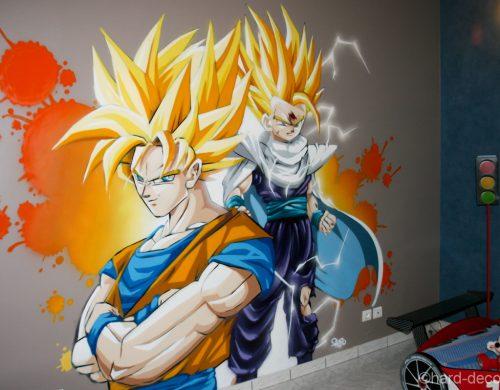 DBZ Goku & Gohan