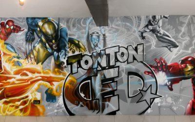 Héros Marvel Tonton Ced