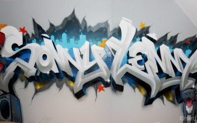 Graffiti Sonny & Lenny