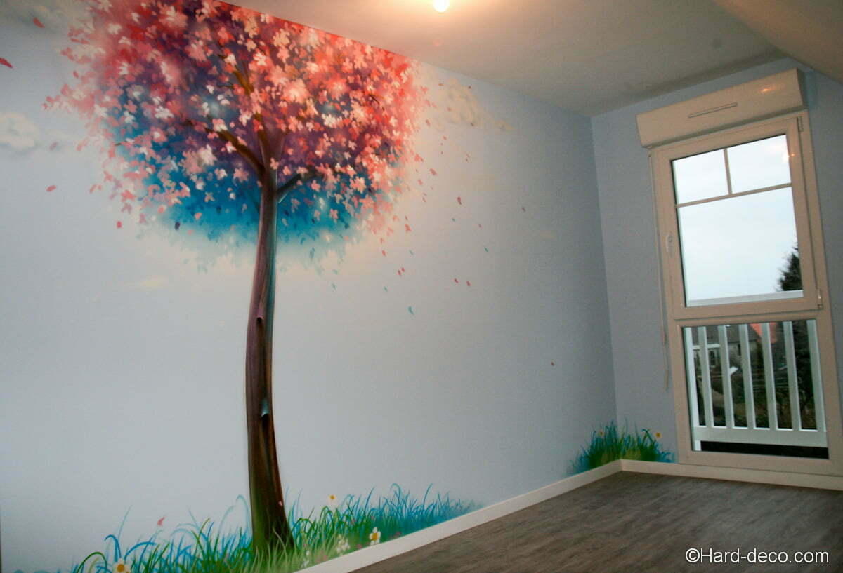 1000 images about mur on pinterest murals street art for Decoration murale ginkgo