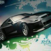 A fond la caisse !! (Nissan GTR)