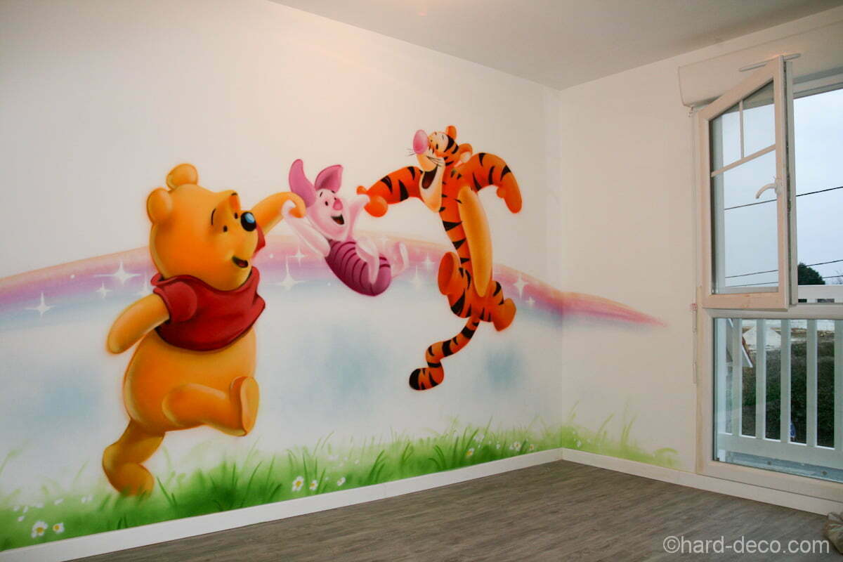D co chambre bebe tigrou for Decoration murale chambre bebe