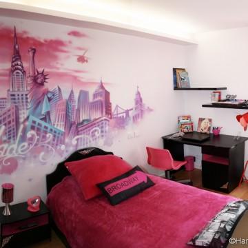 Fresques D Cors Muraux Et Graffitis Pour Chambre De Filles