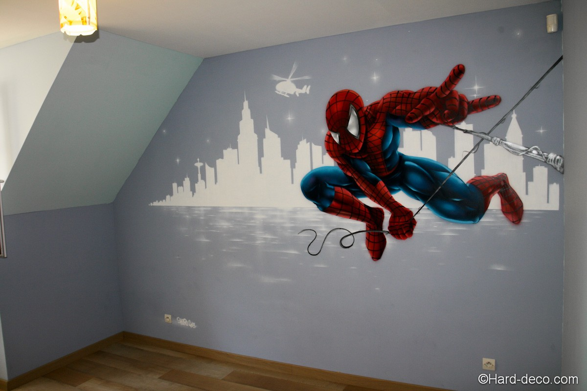 Decoration murale chambre gar on - Deco murale chambre ...