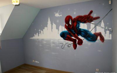 Décor mural Spiderman