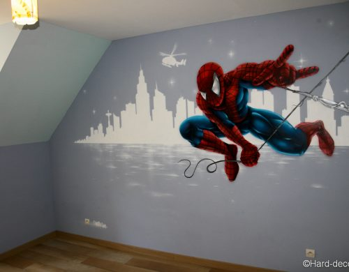 Décor mural Spiderman