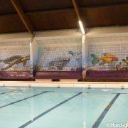 Fresque piscine de Corbeil-Essonnes