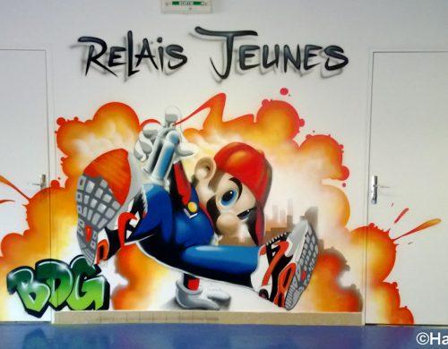 Déco Mario break dance