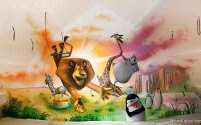 Déco Madagascar fait son cirque