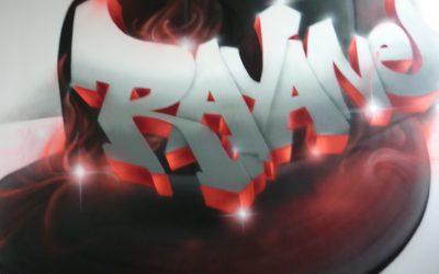 Casquette et graffiti Rayane