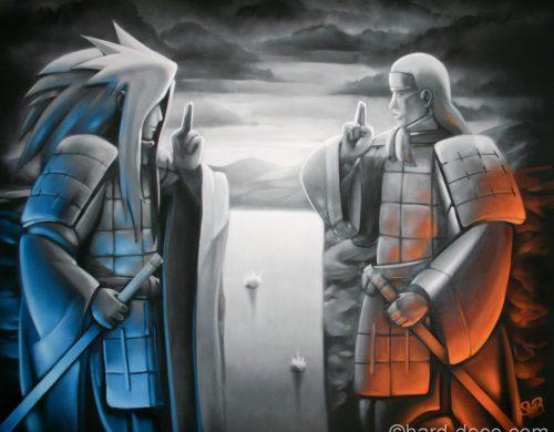 Naruto Vallée de la fin