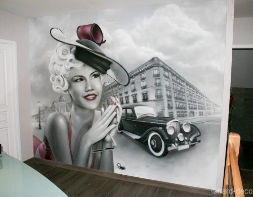 Décor Pinup & Bentley 60's