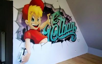 Le Graffiti d'Ethan
