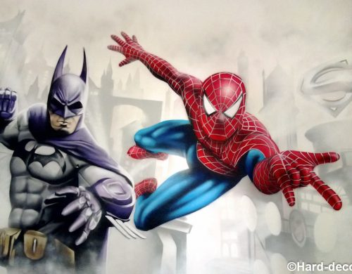 Batman & Spiderman