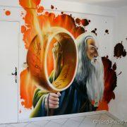Chambre Seigneur des anneaux